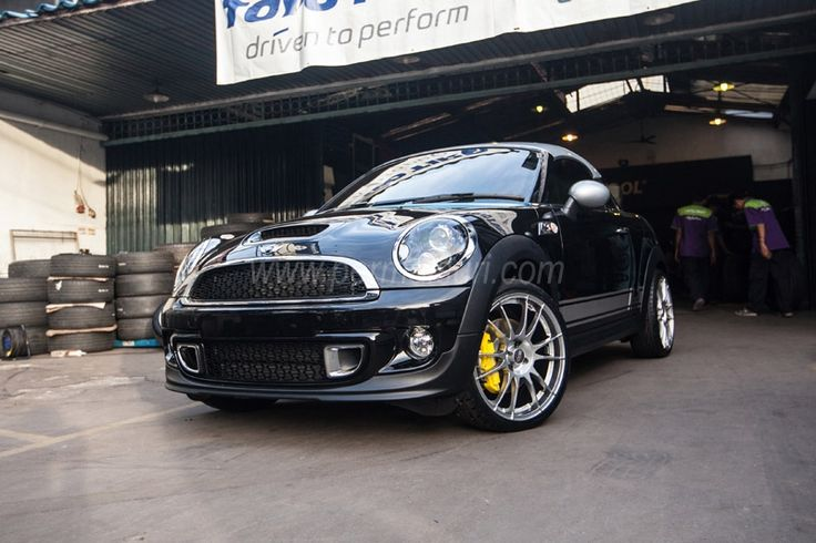 "Old Mini Coopers >> Ultraleggera 18"" on Mini Cooper S Coupè #OZRACING #RACING #ULTRALEGGERA #RIM #WHEEL | OZ CARS ..."