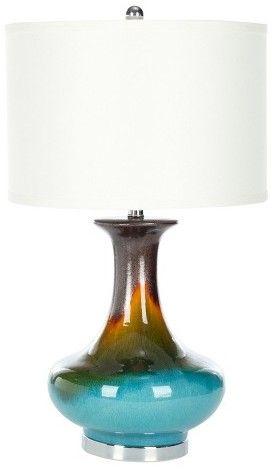 Safavieh Table Lamp - Blue/White