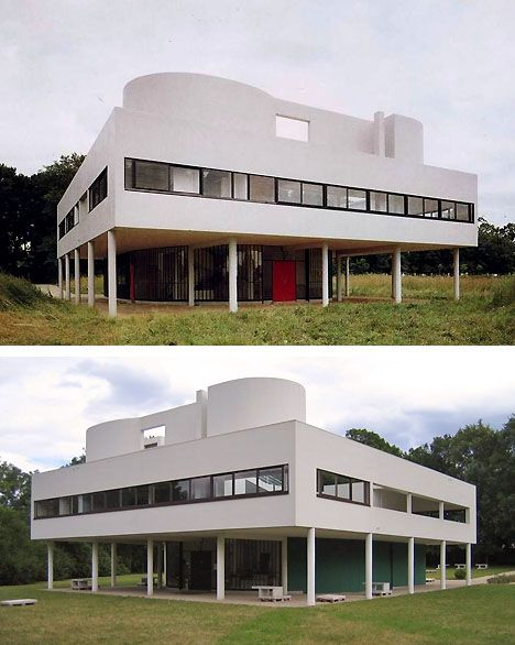 1000 ideas about villa savoye on pinterest le corbusier for Poissy le corbusier