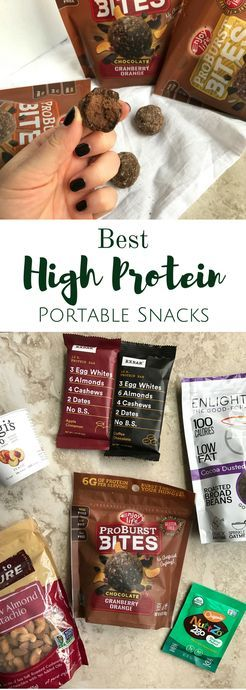 Looking for snacks that will keep you full on the go? These are the Best High Protein Portable Snacks that I always take with me! This post is sponsored by Enjoy Life Foods but all opinions are my own.