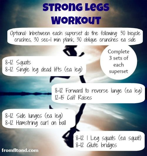 Strong Legs for Workout