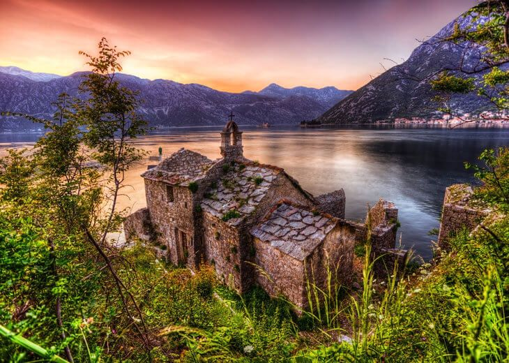 The 7 day Discover Montenegro self-drive itinerary shows you the best of Montenegro, like the Bay of Kotor.