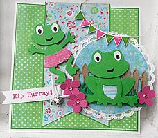 Frog card. http://www.mariannedesign.nl/