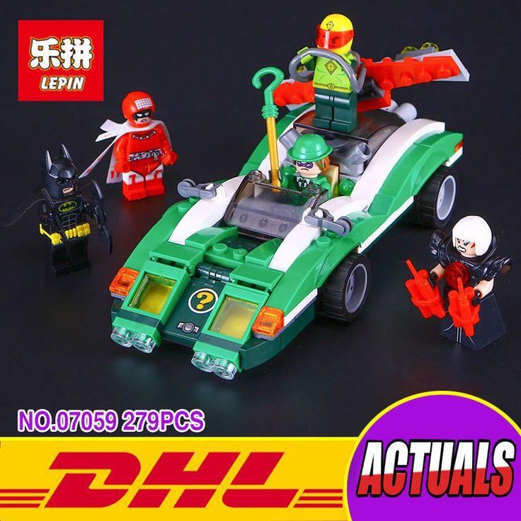 Lepin 07059 New 282Pcs Genuine Batman Movie Series The