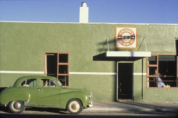 Royal Hotel at Naseby, Otago, New Zealand.1979. By Robin Morrison