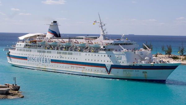 ms Caribe as Discovery Sun for Discovery Cruise Line - photo: Jon Worth via Wikipedia