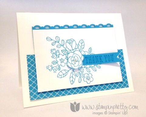 Stampin up stamp it stamping pretty mary fish so very for Mary fish stampin up