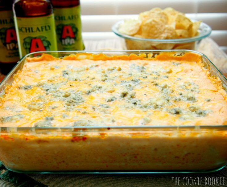 beer cheese buffalo chicken dip.  AMAZING. all of my favorites in one dip!!!