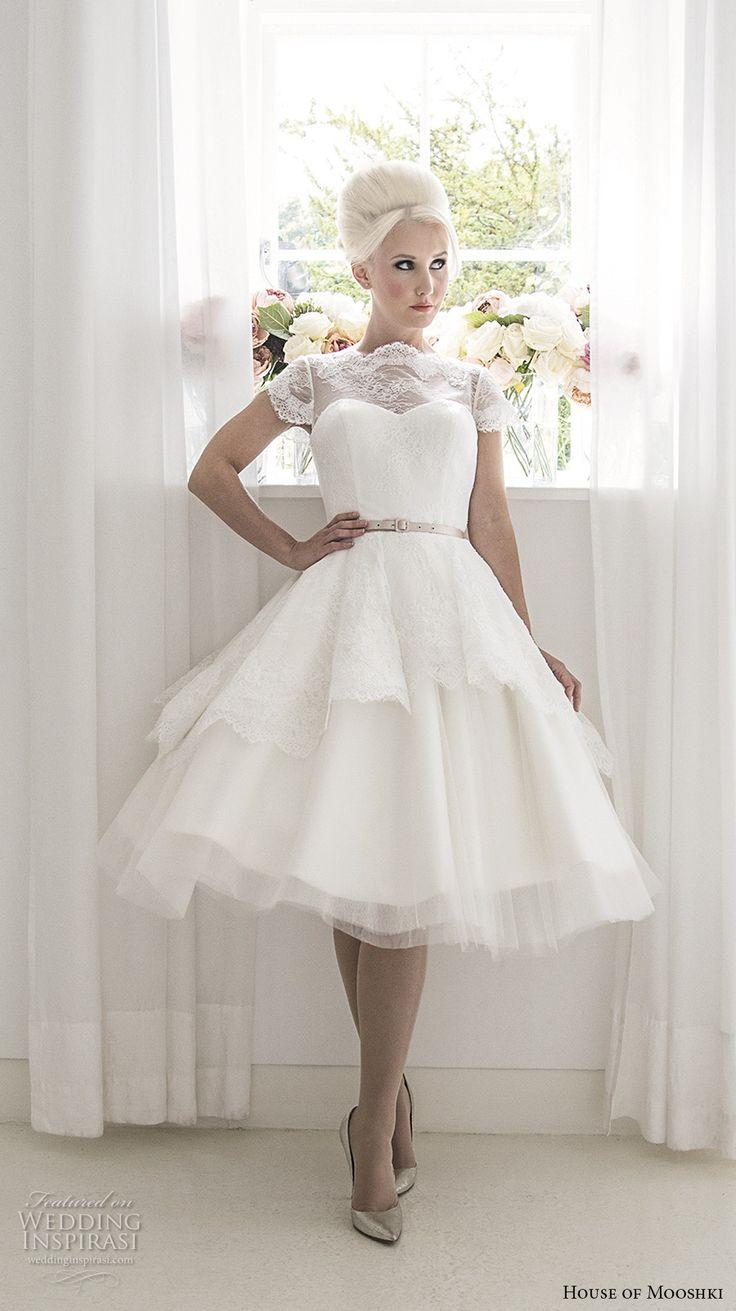 house of mooshki 2017 bridal cap sleeves illusion bateau sweetheart neckline heavily embellished ...