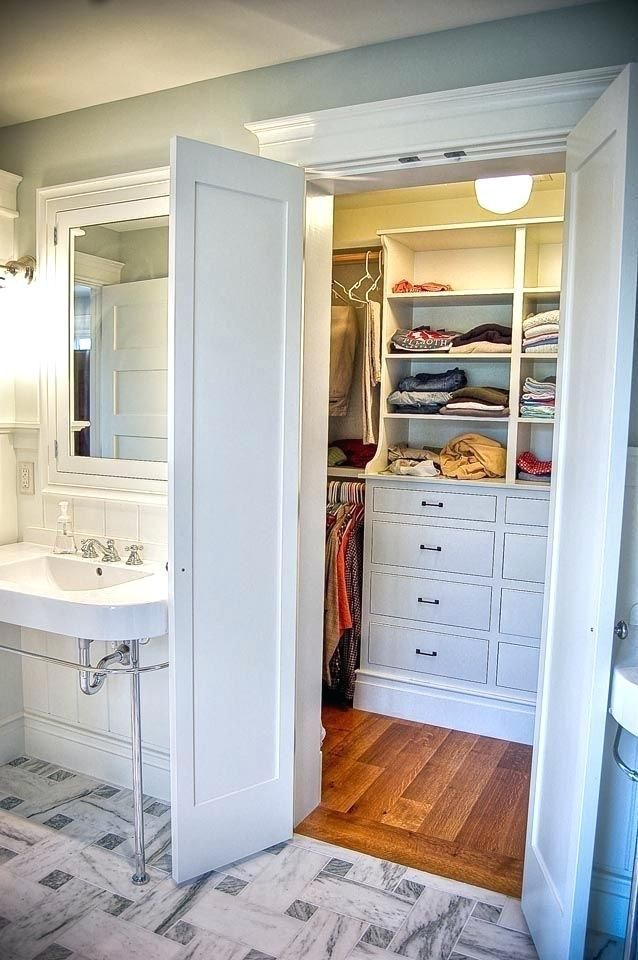Master Bathroom With Closet Best Master Bath Closet Combo Images On Bathroom Throughout Bathroom And Closet Closet Layout Master Bathroom Design Closet Remodel