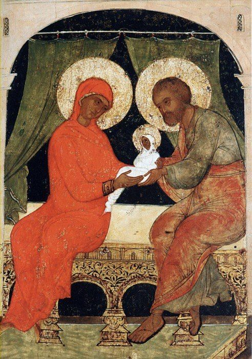 Рождество Пресвятой Богородицы.  Россия.16 век