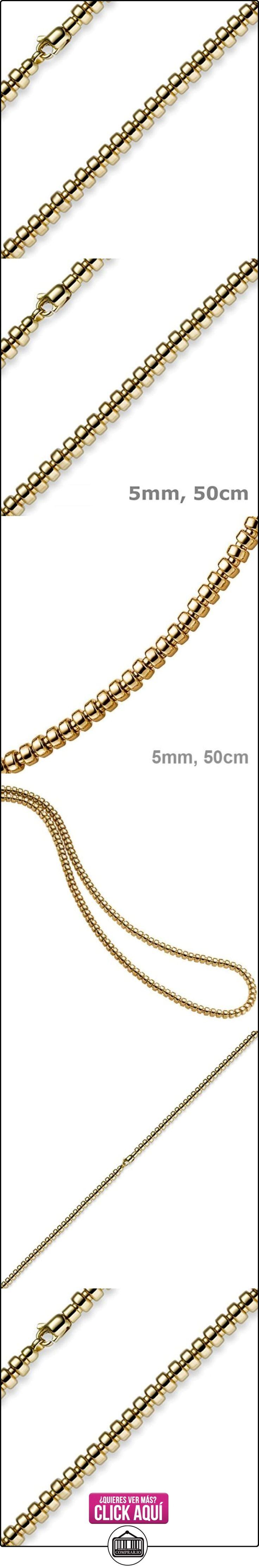 5 mm Schmuck rodillos cadena oro 585 50 cm unisex de cadena de oro  ✿ Joyas para hombres especiales - lujo ✿ ▬► Ver oferta: https://comprar.io/goto/B00C6ODF8M