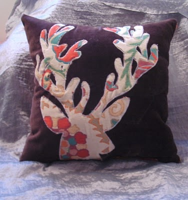 cute Christmas pillow idea