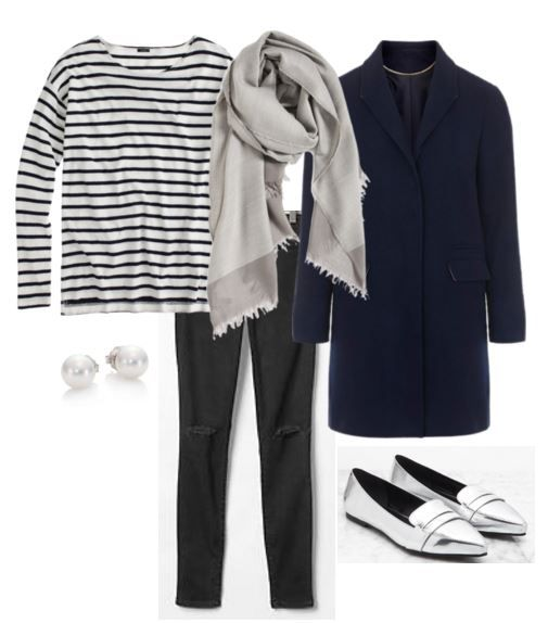 Sweetie Pie Style: Winter Style Inspiration: Oversized Gray Scarf