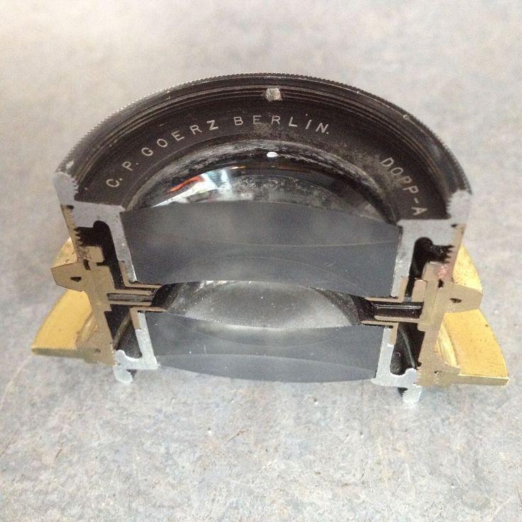 Dagor Cut Away Lens