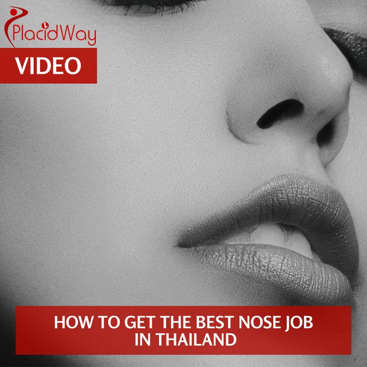 How to get the best nose job in thailand nose job nose