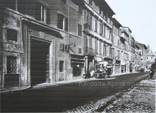 Via Alessandrina – Sfratto prima delle demolizioni Anno: 1924