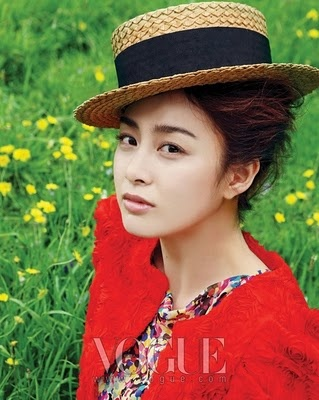 kim tae hee for vogue sweet celebrity