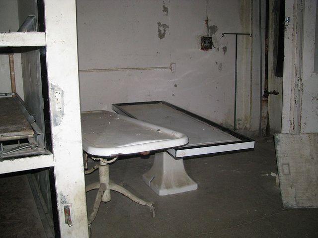 Autopsy Room at Waverly Hills Sanitorium
