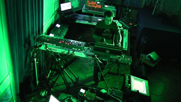 Alba Ecstasy & Nord: Live at the Library. Snapshot.