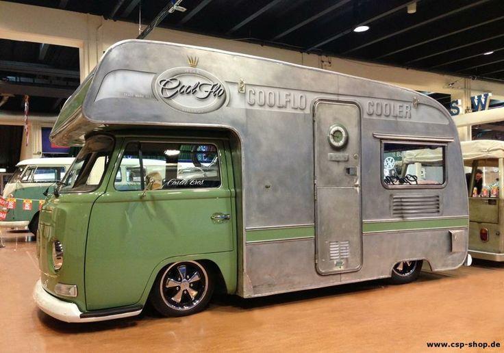 Bay Window with self-build body   Camper, Motorhome, RV, Furgo, Autocaravanas   Pinterest   Cool ...