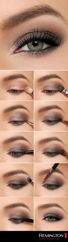 Un #smokeyeye en tonos cafés te dará un look diferente y vanguardista #style #makeup # eyes #DIY