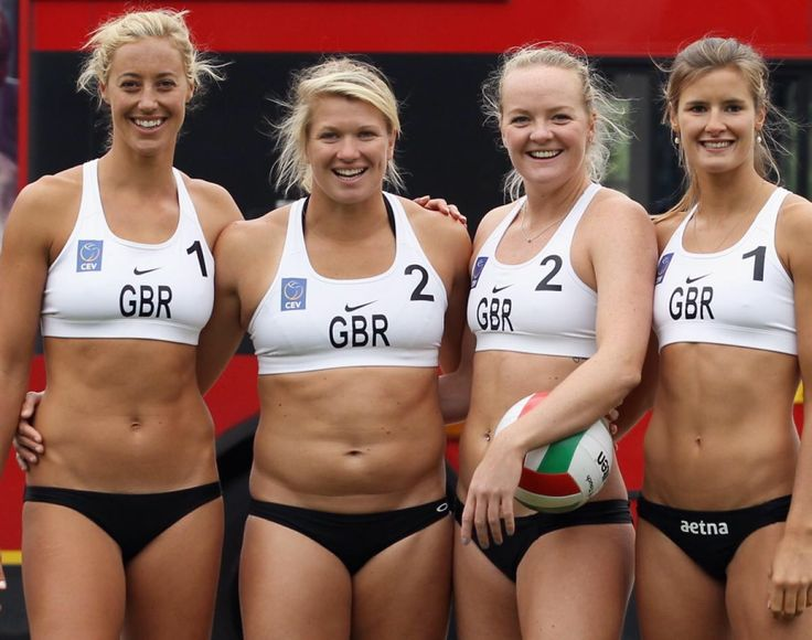 Team GB volleyball squad