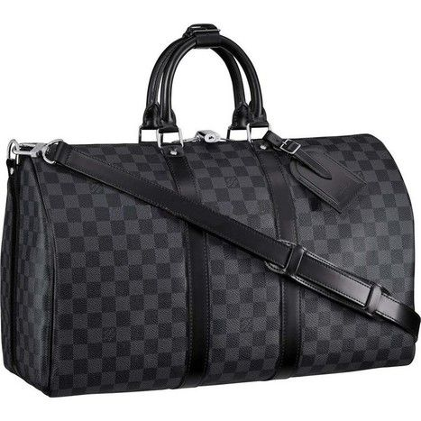 how to choose louis vuitton luggage | Louis Vuitton Damier Graphite Canvas Keepall 45 With Shoulder St N41418 | LV borse