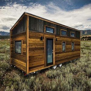 The Roanoke From Tumbleweed Tiny House Company A On Wheels That Perfectly Brings Together Modern Look With Classic Farmhouse Aesthetic