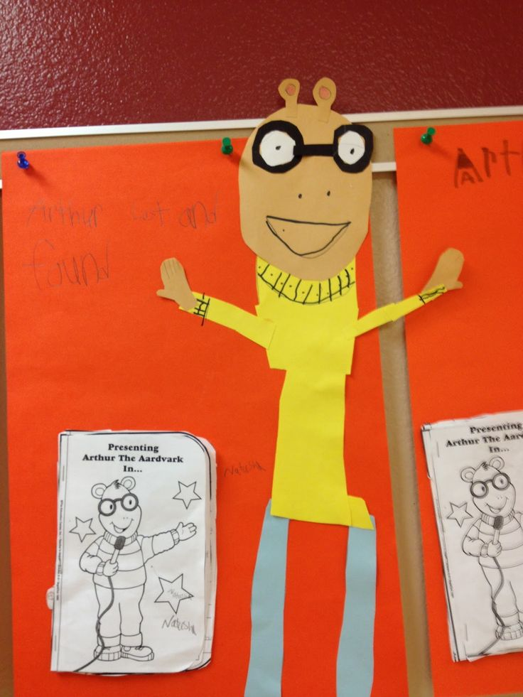 Buzzing About Second Grade: Arthur the Aardvark and Around the Town Wrap-Up