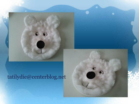 bricolage ours polaire - Recherche Google