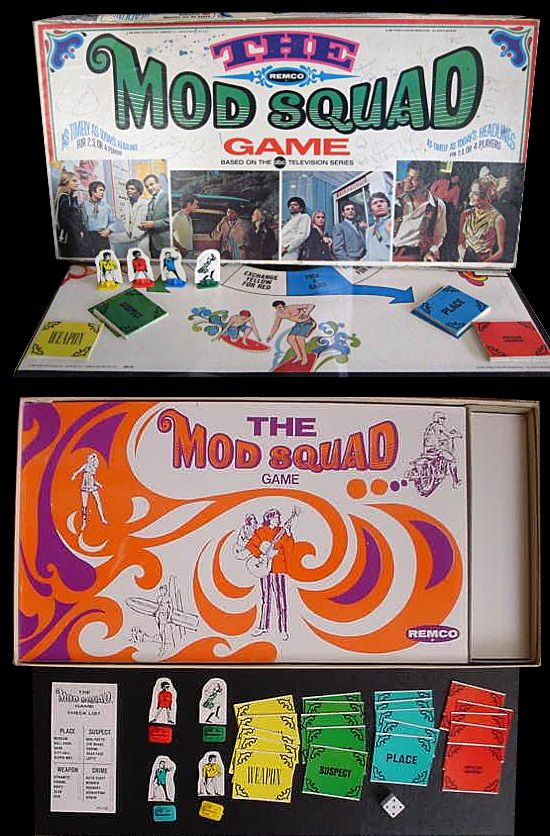 The Mod Squad Game by Remco (1968)