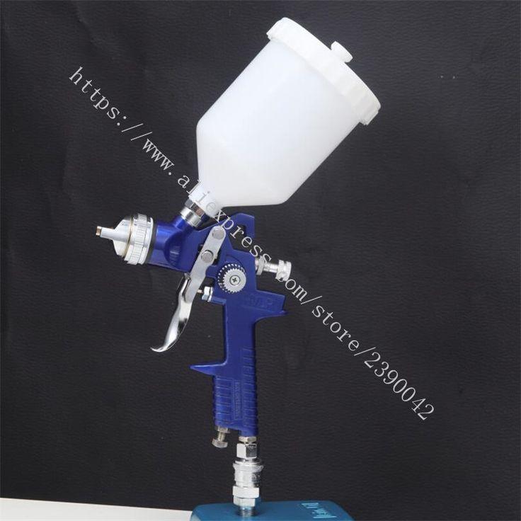 High Quality 1.4mm 1.7mm 2.0mm Nozzle 600ML HVLP Spray Gun Air Spray Paint Guns Use For Car Auto Repair Tool Painting Kit