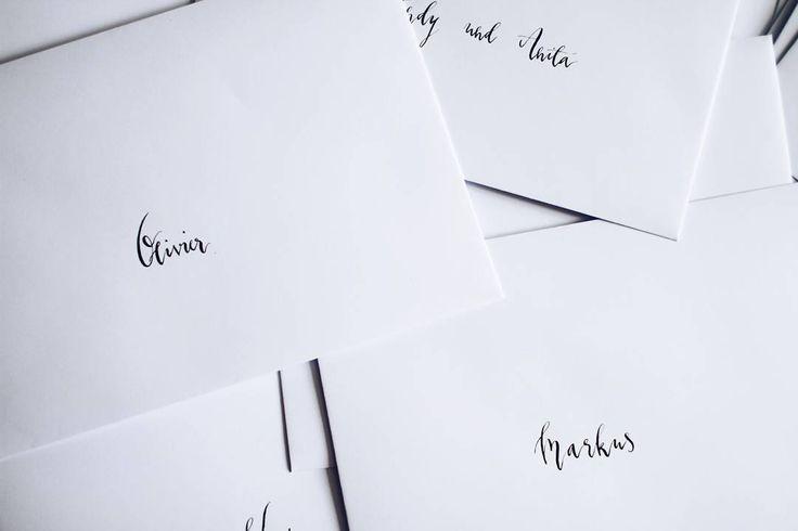 #calligraphylove #calligraphy #lovemywork #wedding #weddinginspiration…