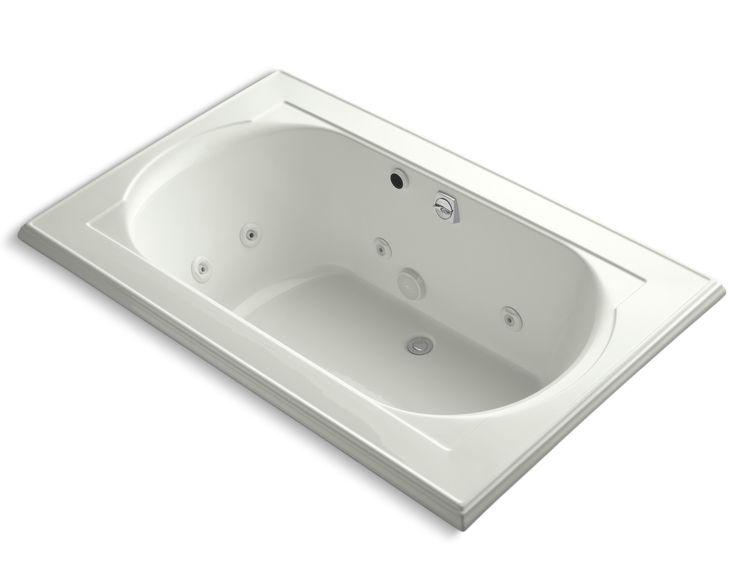 Memoirs 66 x 42 whirlpool bathtub memoirs whirlpool for Royal whirlpool baths
