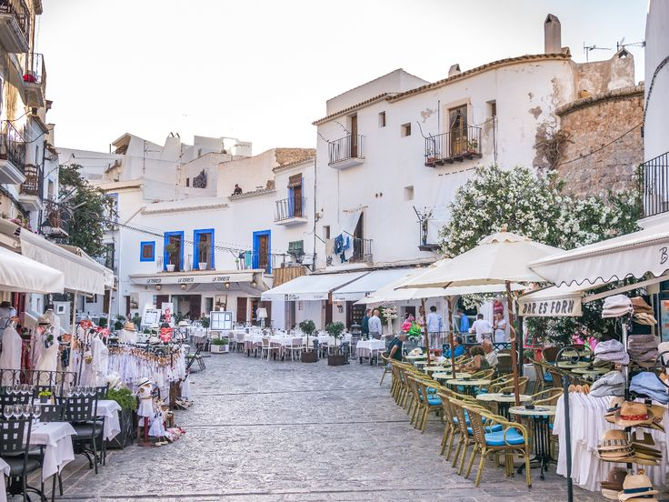 Ibiza - old town streets