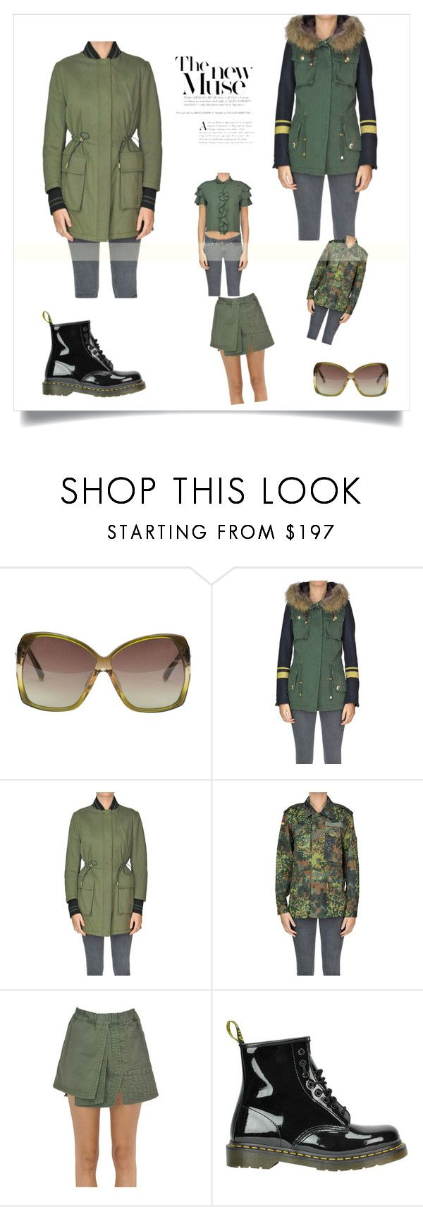 """""""Military style"""" by glamest-luxury-outlet on Polyvore featuring moda, Linda Farrow, Project - [Foce] - Singleseason, Co