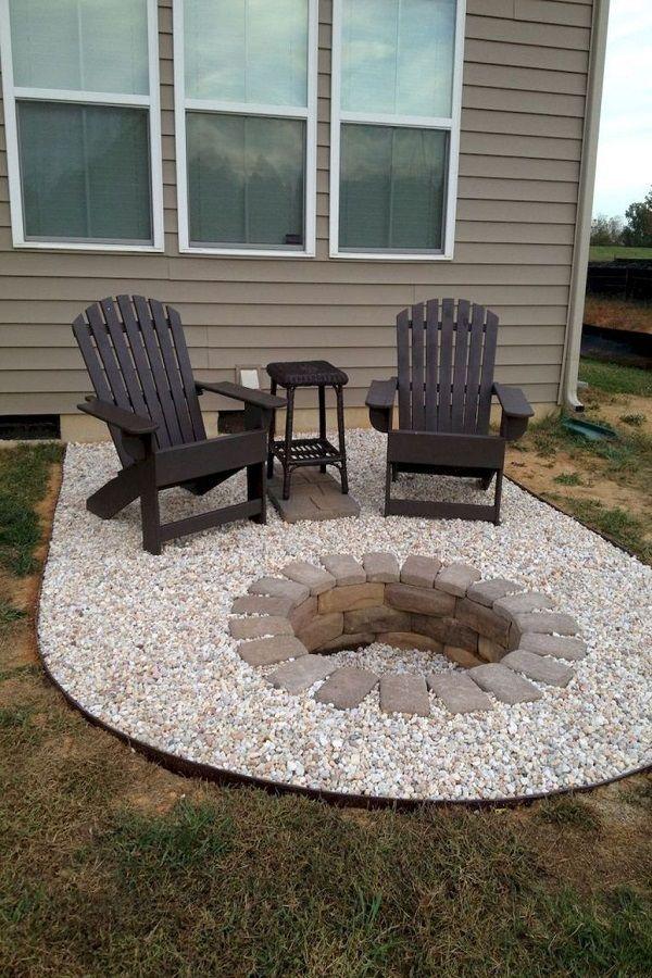 30 Affordable Cheap Fire Pit Ideas Cheap Fire Pit Backyard Fire Backyard Makeover