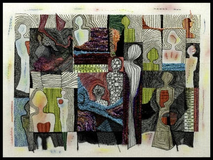 embroidery - Mary Ruth Smith, PhD, Professor of Art