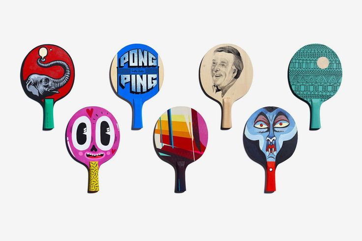 The Art of Ping Pong by Algy Batten & Fivefootsix — The Brand Identity