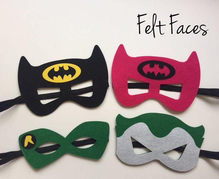Batman and Friends Party Mask, Superhero Party Favors, Superhero Party Decorations