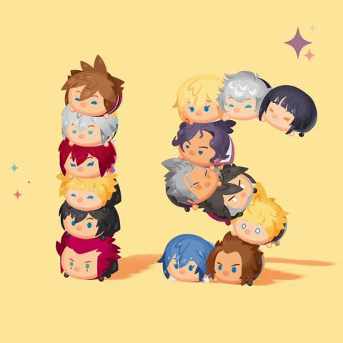 Happy 15th Anniversary to the Kingdom Hearts series! Thanks for the memories and for the tsum tsum collab!