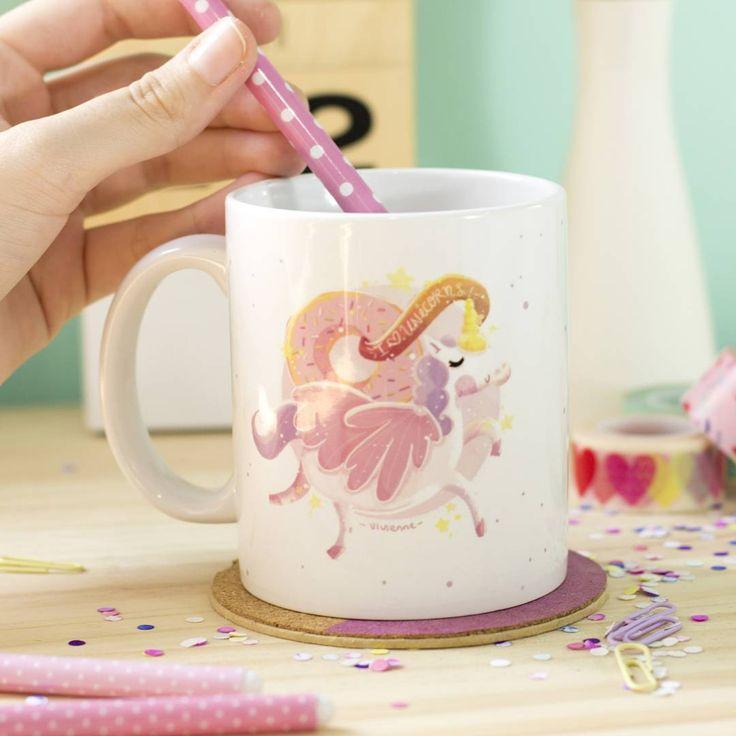 Que no te falte una hermosa taza para empezar tus días con el cafecito o té :) #PeppermintAtelier #donuts #unicorn #unicornio #mug #OnlineStore #Cartagena #Colombia