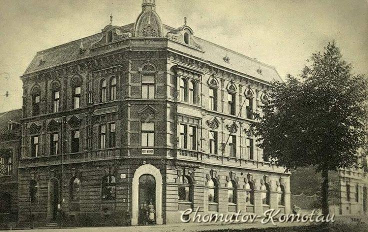 HOTEL WEIMAR - Dnes v tomto domě sídlí Česká pojišťovna
