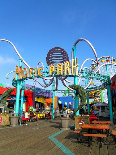 California Dreamin' Santa Monica pier