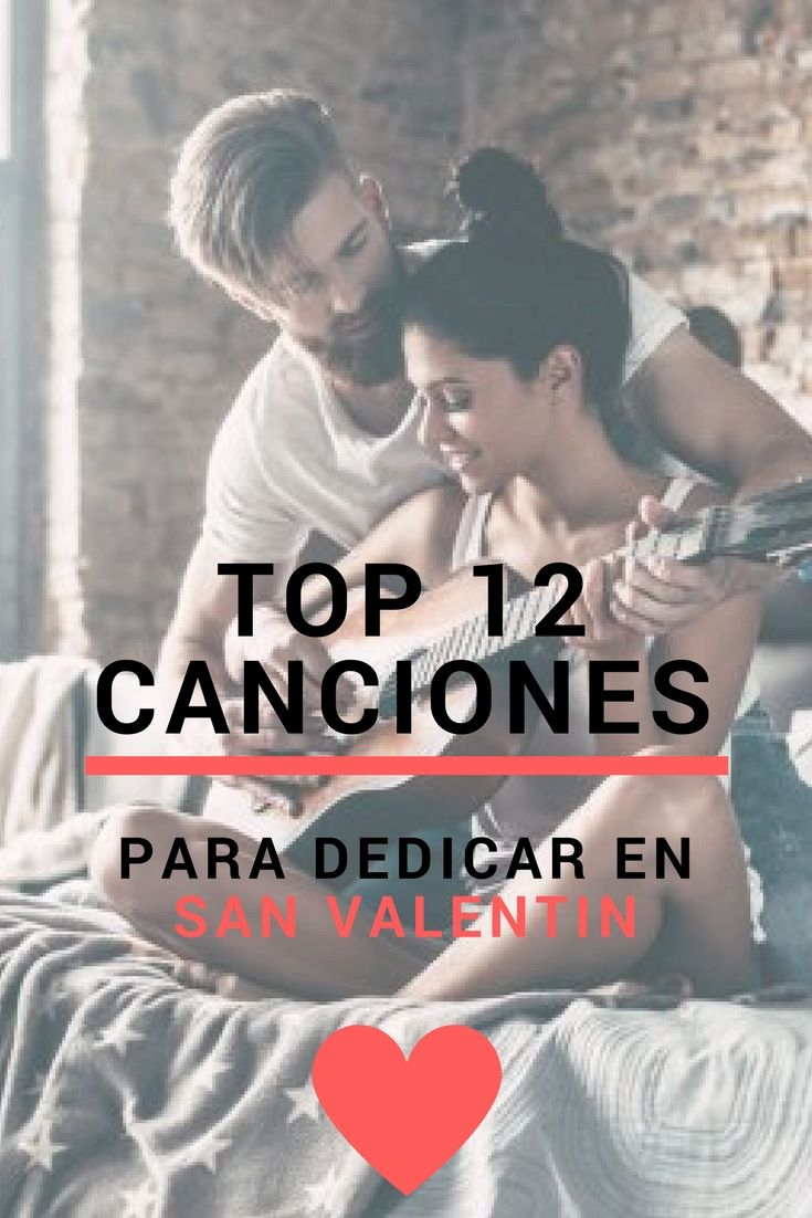 Estas 12 canciones son las más románticas para este día de San Valentin.     Canciones de amor para dedicar | Detalles para le 14 de febrero | Love song playlists | #amor #sanvalentin