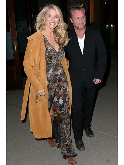 Christie Brinkley Stuns as She Celebrates Her 62nd Birthday with Boyfriend John Mellencamp in NYC http://www.people.com/article/christie-brinkley-john-mellencamp-birthday-dinner-nyc