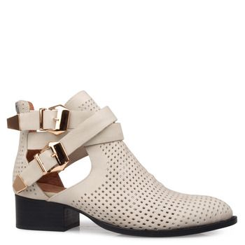 EVERLY  : Ankle Boot : Heel Low