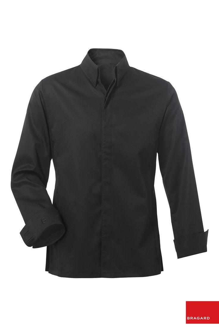 Bellagio chaqueta de cocina negro chaqueta de cocina for Chaquetas de cocina originales