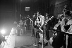 Johnny Cash & The Tennessee Two on The Grand Ole Opry…